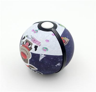 精灵球暖手宝移动电源HY118